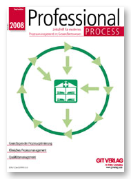 Professional Process - Fachzeitschrift für modernes Prozessmanagement im Gesundheitswesen