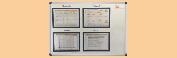 Effiziente Prozesse durch visuelles Management im Krankenhaus