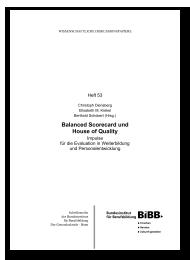 Balanced Scorecard und House of Quality